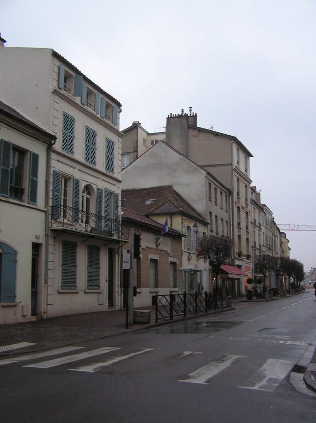 Au 46 rue de Pologne à Saint-Germain-en-Laye