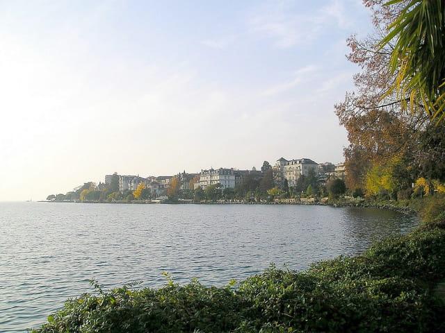 Au bord du lac Léman (1)