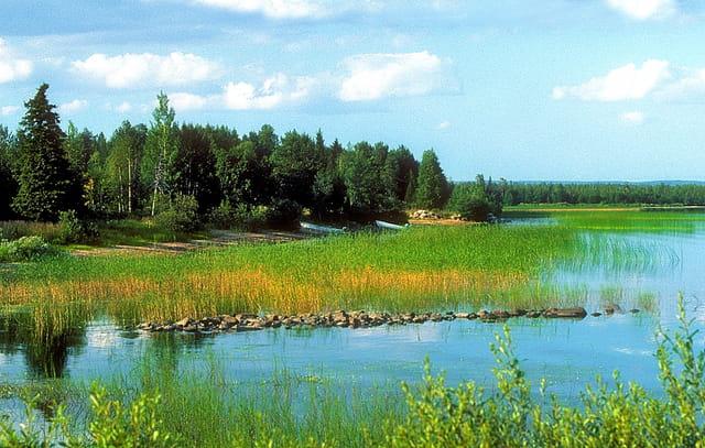 Au bord du lac Vänern