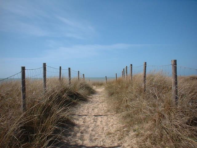 Au bout du chemin la mer