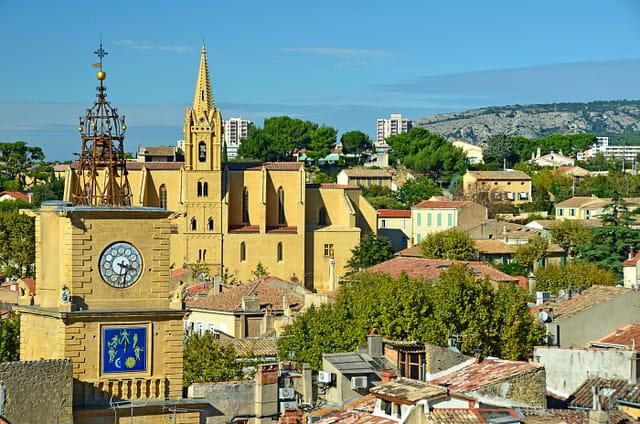 Au-dessus des toits (2), Salon-de-Provence