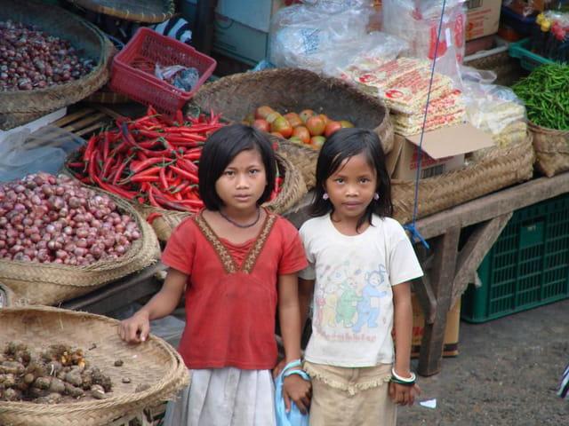 Au marché de Denpasar