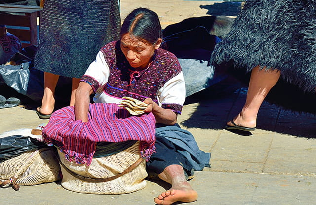 Au marché de San Juan Chamula