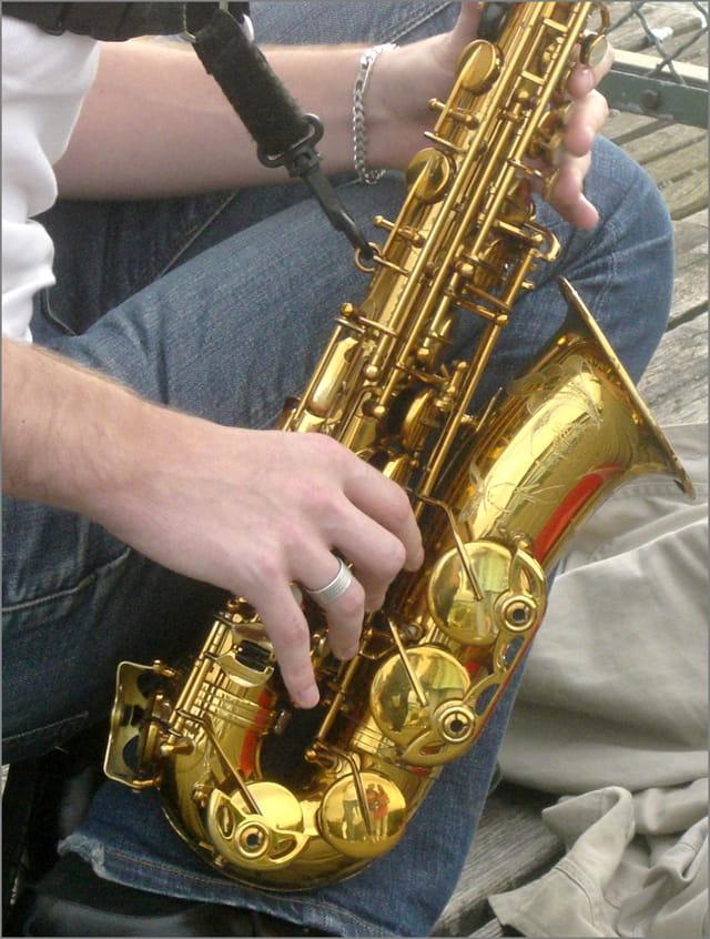 Au saxophone
