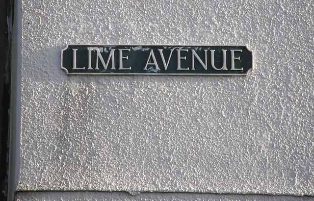 Aube sur Lime Avenue