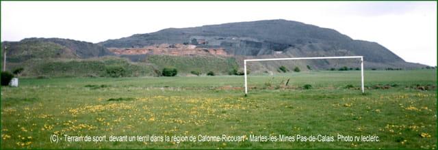AUCHEL, et ses environs, paysage minier