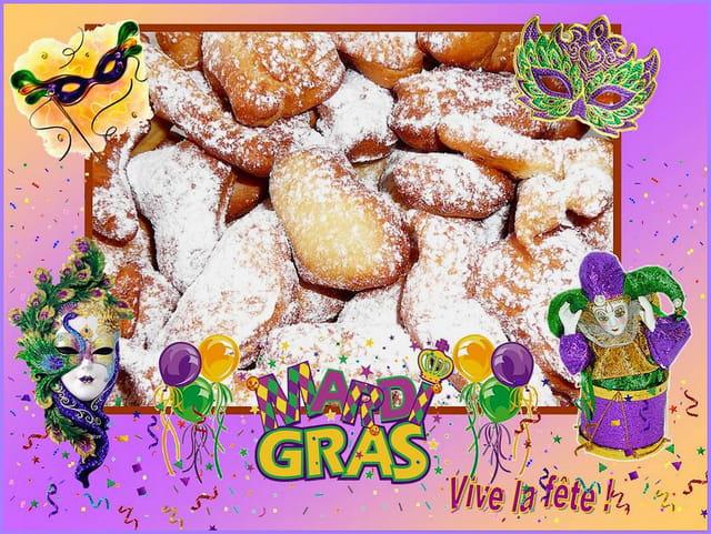 Aujourd'hui, c'est Mardi Gras ! Vive la fête !