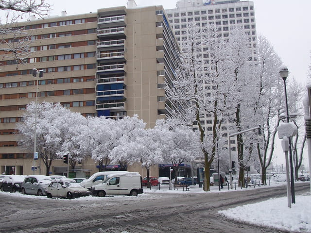 Aujourd'hui il neigeait à Marseille