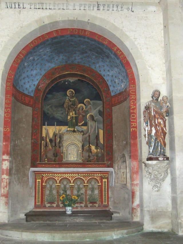 Autel de l église de Rom