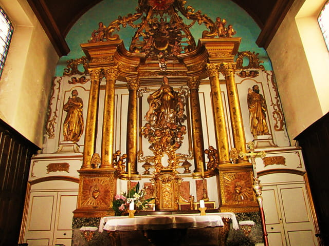 Autel - Eglise de Séméac.