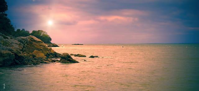 aux abords du rivage