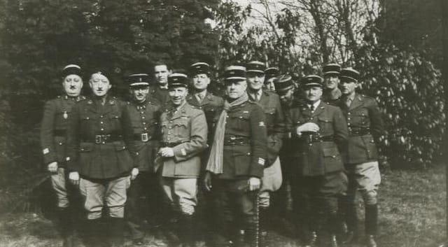 Avant l'offensive de Mai 1940