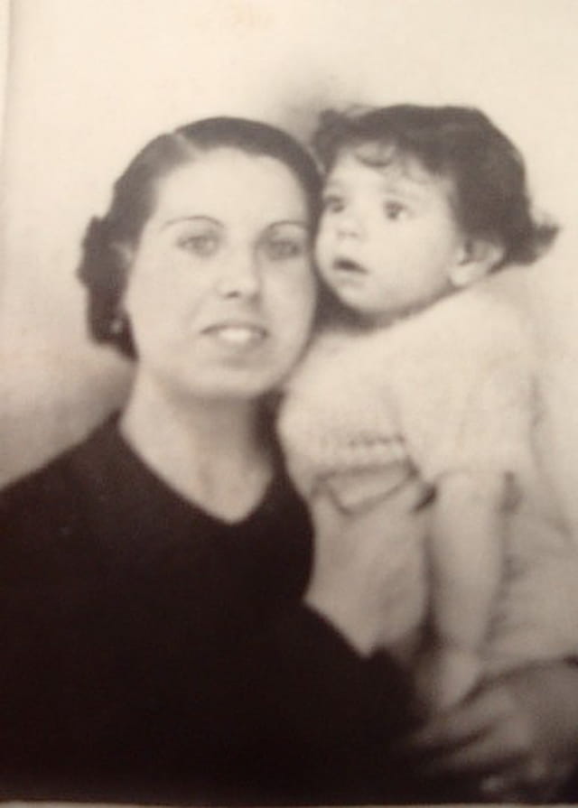 Avec ma mère