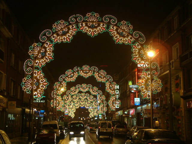 Avenue décorée