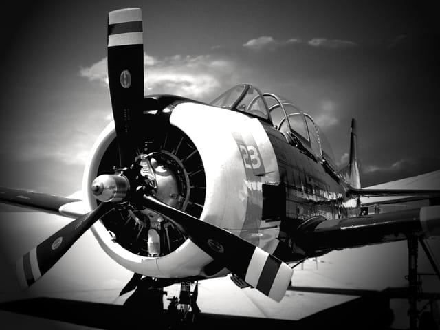Avion de chasse US