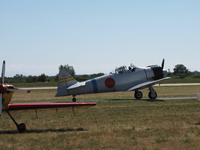 Avion de chasse Zero - Air Expo - Muret 2011.