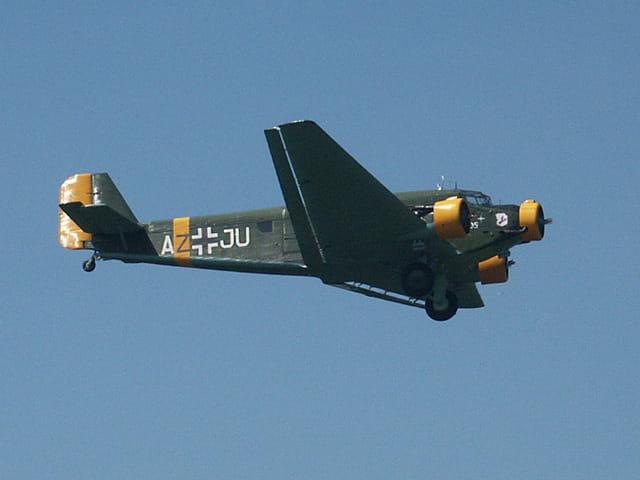 Avion de légende : ju 52