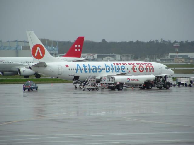 Avion de ligne.