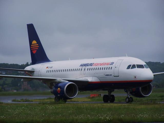 Avion de ligne - Airbus A 319 - Hamburginternational.