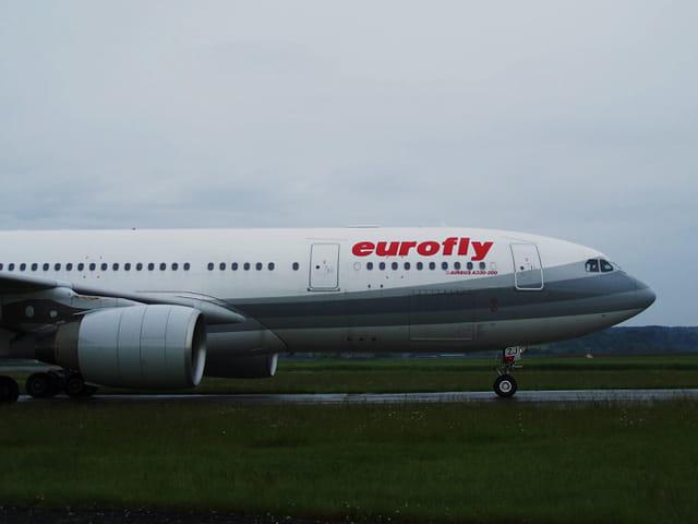 Avion de ligne - Airbus A 330 - Eurofly.