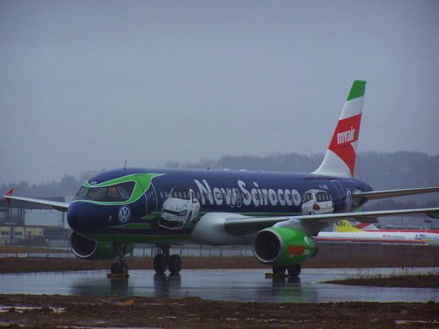 Avion de ligne Airbus A320 - Cie MYAIR.