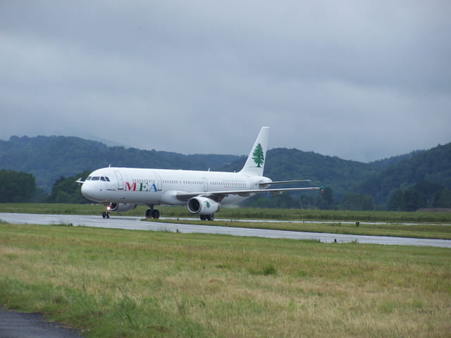 Avion de ligne Airbus A321 -  Cie MEA.