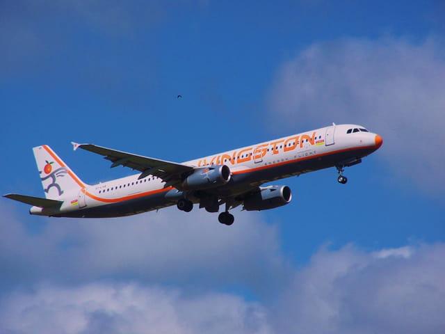 Avion de ligne Airbus A321 - Livingston