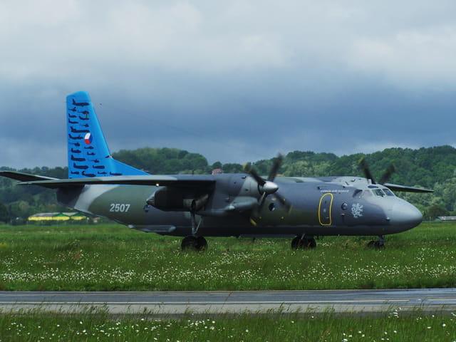 Avion de ligne - Antonov - Czech Air Force.