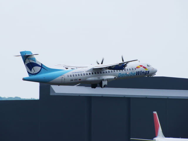 Avion de ligne ATR 72 - Danube Wings.