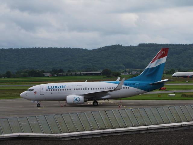 Avion de ligne Boeing 737-700 - LUXAIR.