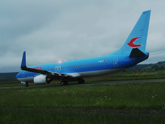 Avion de ligne - Boeing 737-800 - Cie Neos.