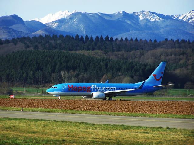 Avion de ligne Boeing 737-800 - Hapag.