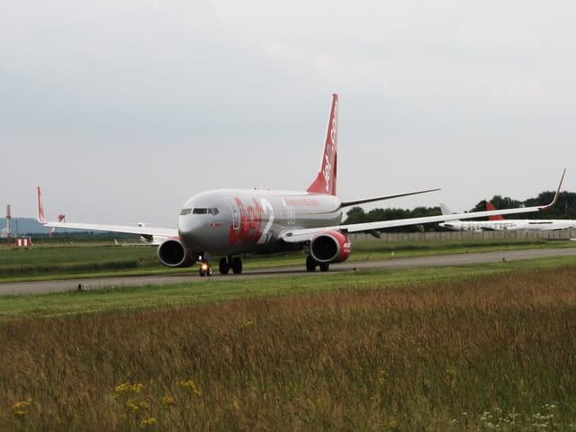 Avion de ligne Boeing 737-800 - JET2.