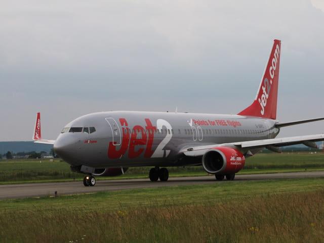 Avion de ligne Boeing 737-800 - JET2.com.