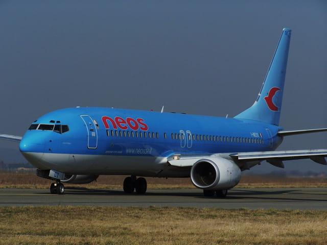 Avion de ligne -  Boeing 737-800 - Neos.