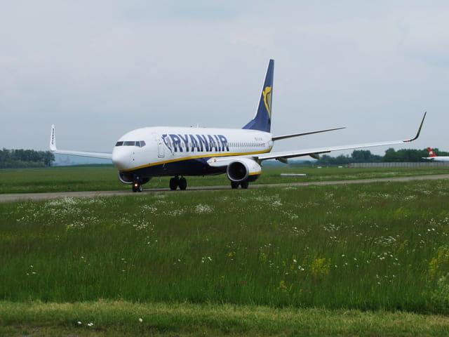 Avion de ligne Boeing 737-800 - RYANAIR.