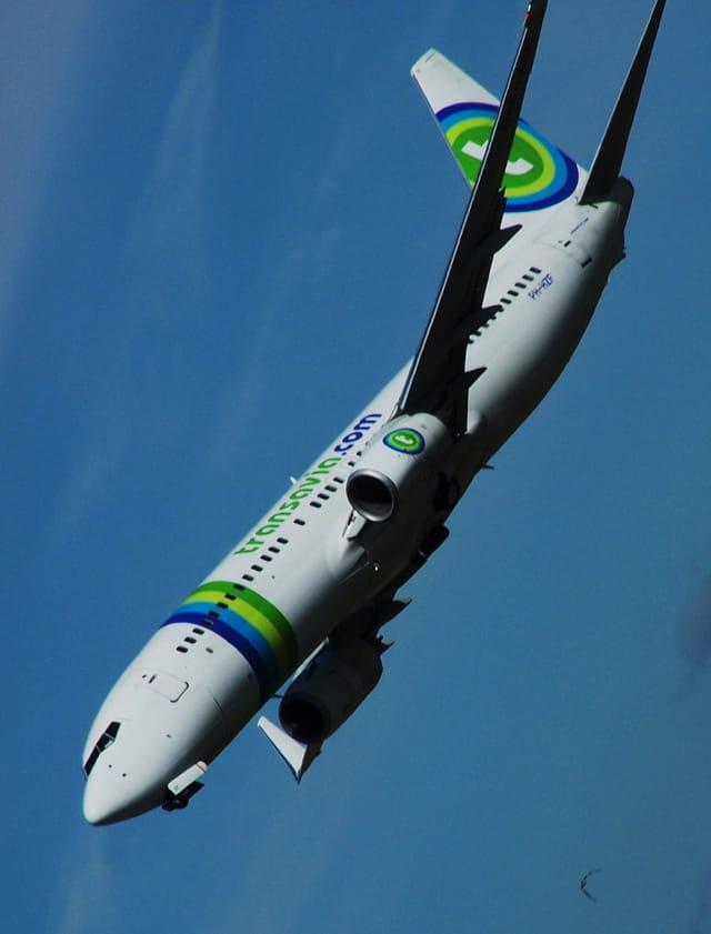 Avion de ligne Boeing 737-800 - Transavia.