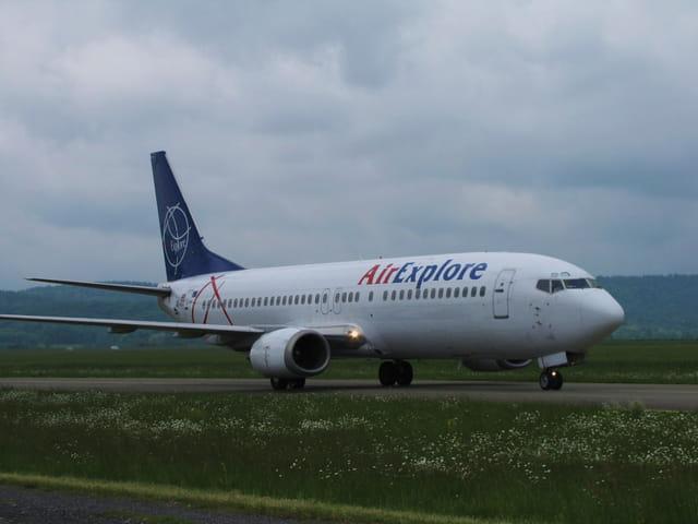 Avion de ligne Boeing 737 - Air Explore.