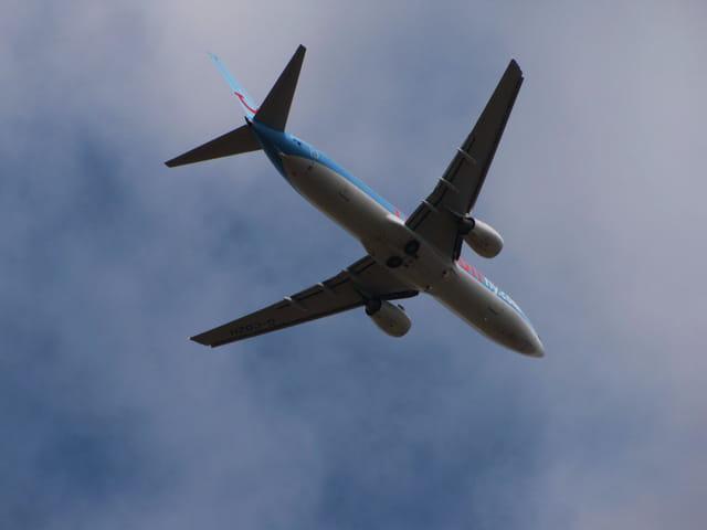 Avion de ligne Boeing 737 - Cie Thomson Fly.