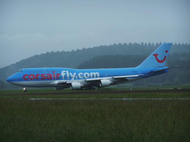 Avion de ligne - Boeing 747 - Cie Corsairfly.