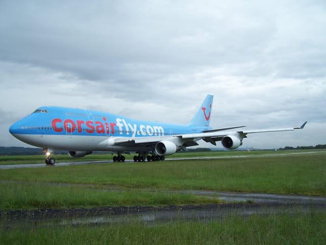 Avion de ligne Boeing 747 - Corsair Fly.