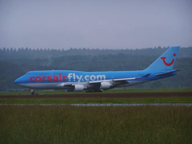 Avion de ligne Boeing 747 - Corsairfly