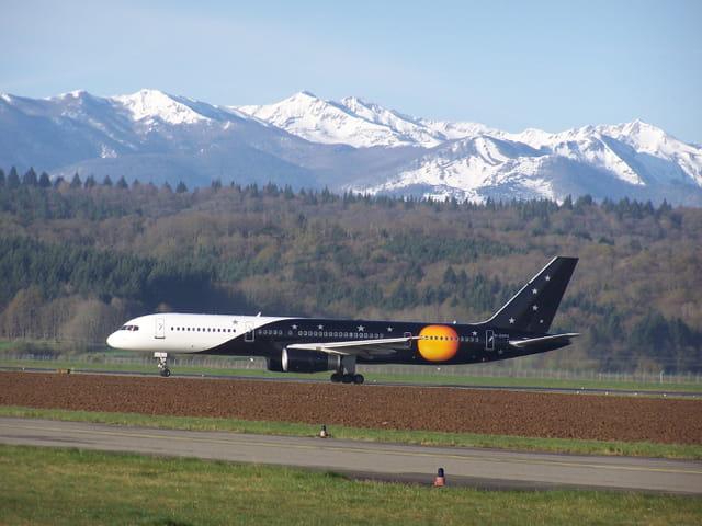 Avion de ligne - Boeing 757.