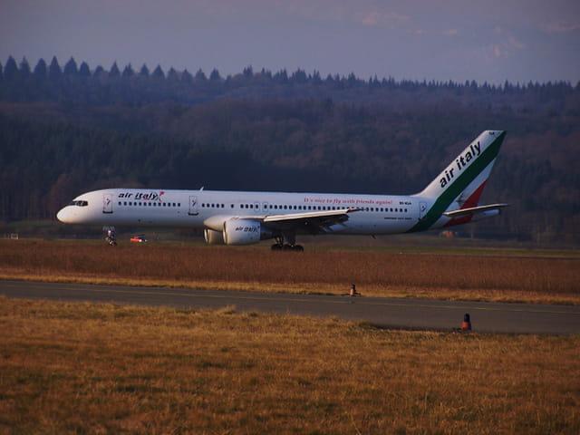 Avion de ligne - Boeing 757 - Air Italy.