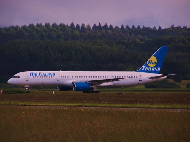Avion de ligne - Boeing 757 - Cie Air Finland.