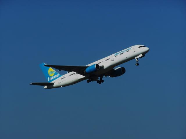 Avion de ligne Boeing 757 - Cie Air Finland.