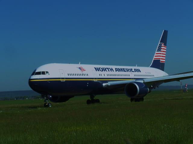 Avion de ligne Boeing 767 - Cie NORTH AMERICAN.