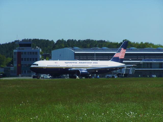 Avion de ligne - Boeing 767 - Cie NORTH AMERICAN.