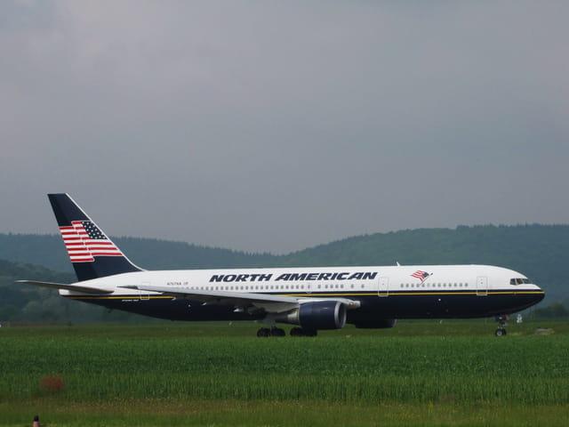 Avion de ligne Boeing 767 - Cie North American