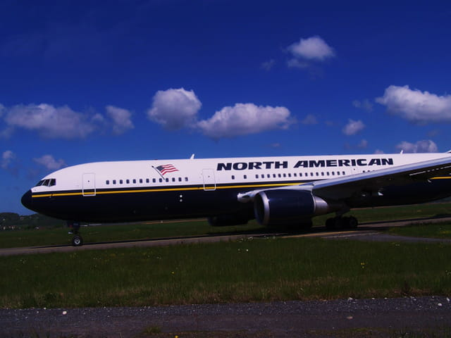Avion de ligne - Boeing 767 - North American.